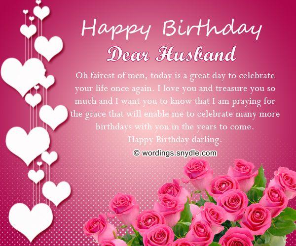 Happy Birthday Wishes Quotes For Husband: Happy Birthday