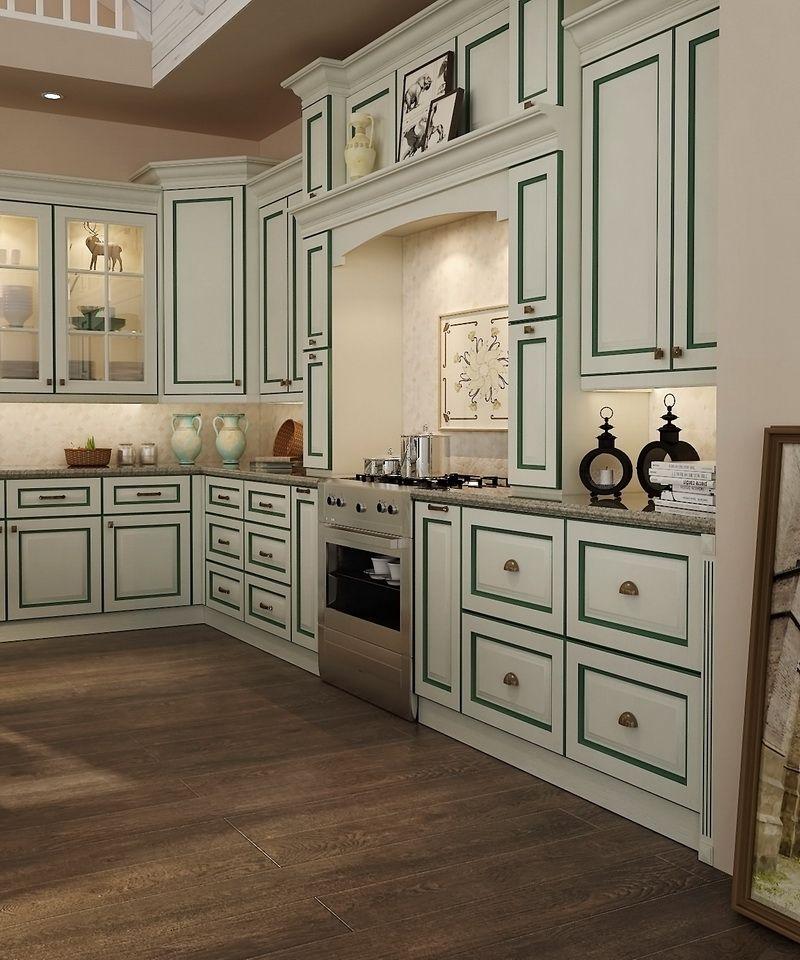 OP15-PVC01: Transitional PVC Kitchen Cabinet | Kitchen ...
