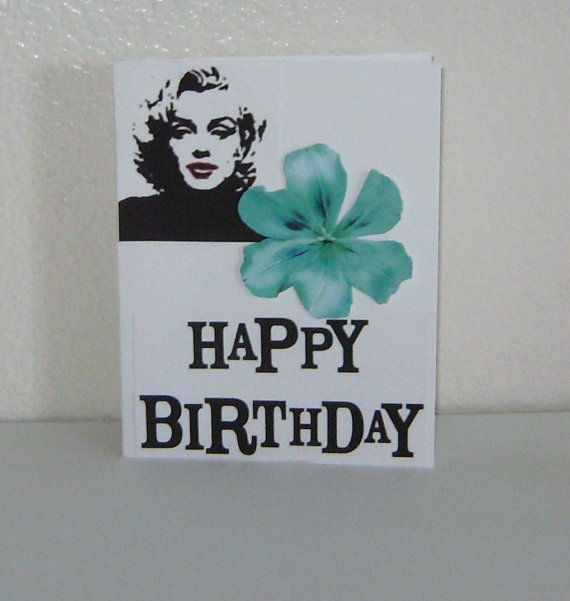 Marilyn Monroe Birthday Cards Marilyn Monroe Happy Birthday Card