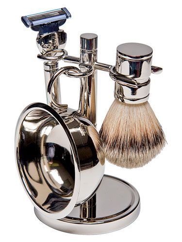 Treat Dad To Smooth Skin With This Classic Shave Set From Target Fathersday Groomsmangifts Kit De Aseo Utiles De Aseo Accesorios Para Hombre