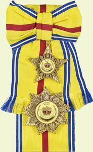 Malaysia Order of the Crown | Royal Orders | Royal jewels ...