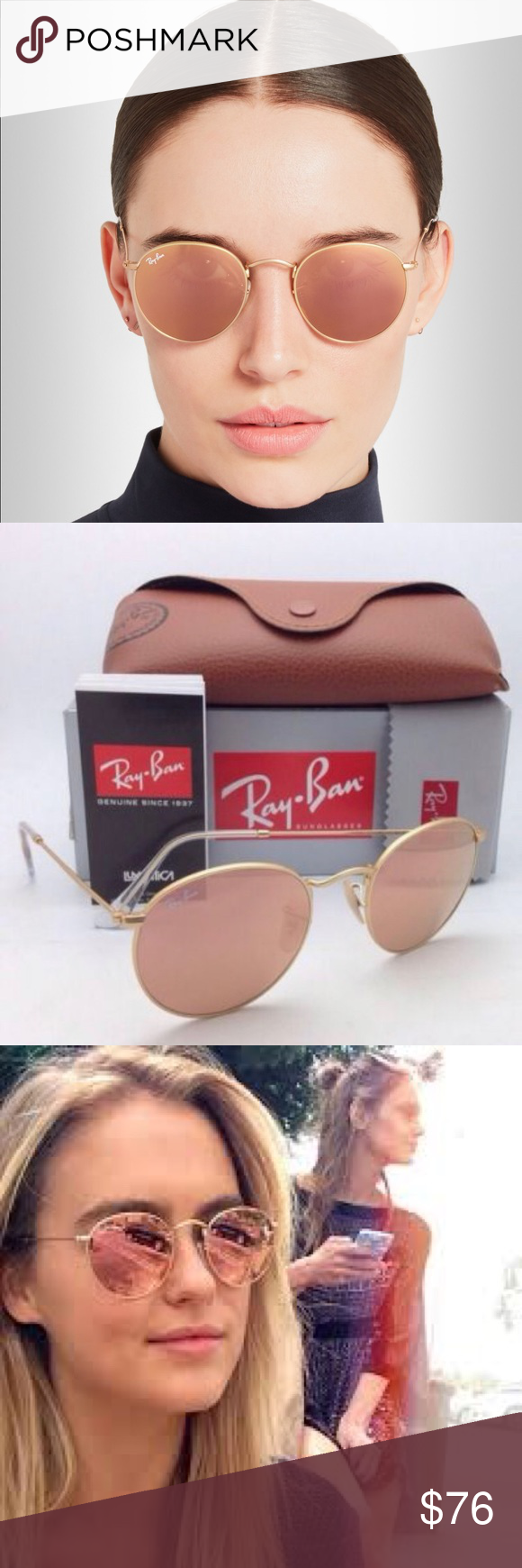 Ray Ban Clip On Round 50 mm
