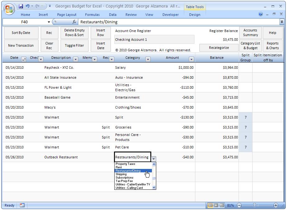 Netresult Training Welcome Budget Spreadsheet Template Budget Spreadsheet Checkbook Register