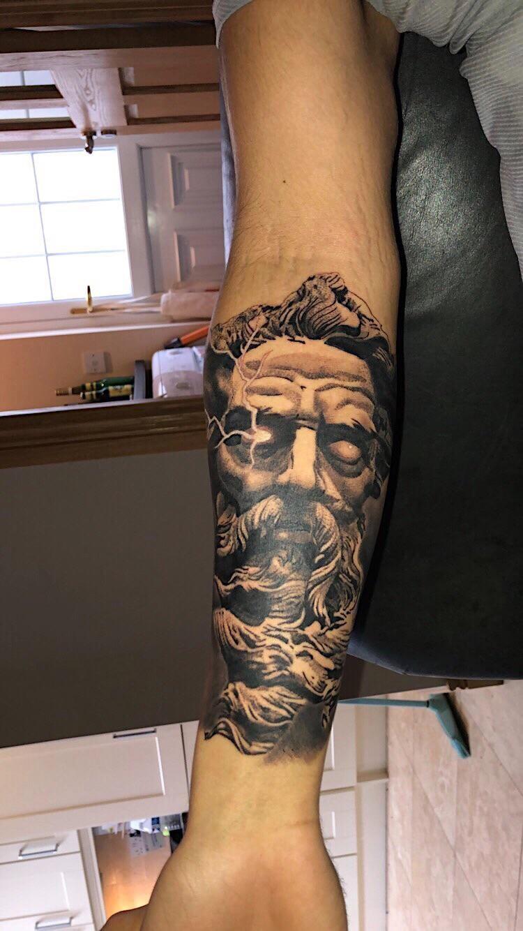 Zeus by Alex krawiecHydraulix tattooDublin