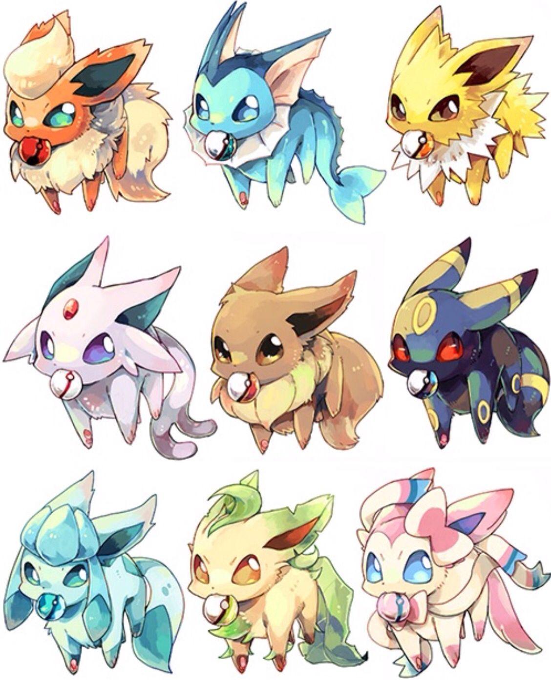 how to get all eevee evolutions in pokemon sun