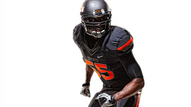 The uniforms were awesome for today's bowl game ...