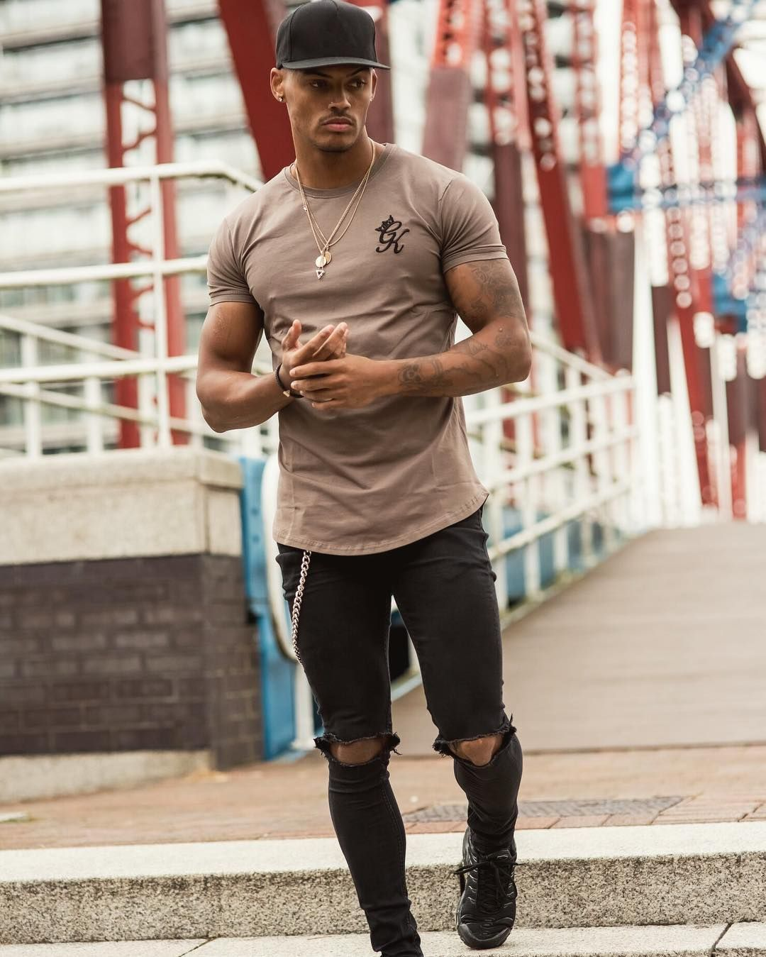 Iron Longline Tee from @gymking