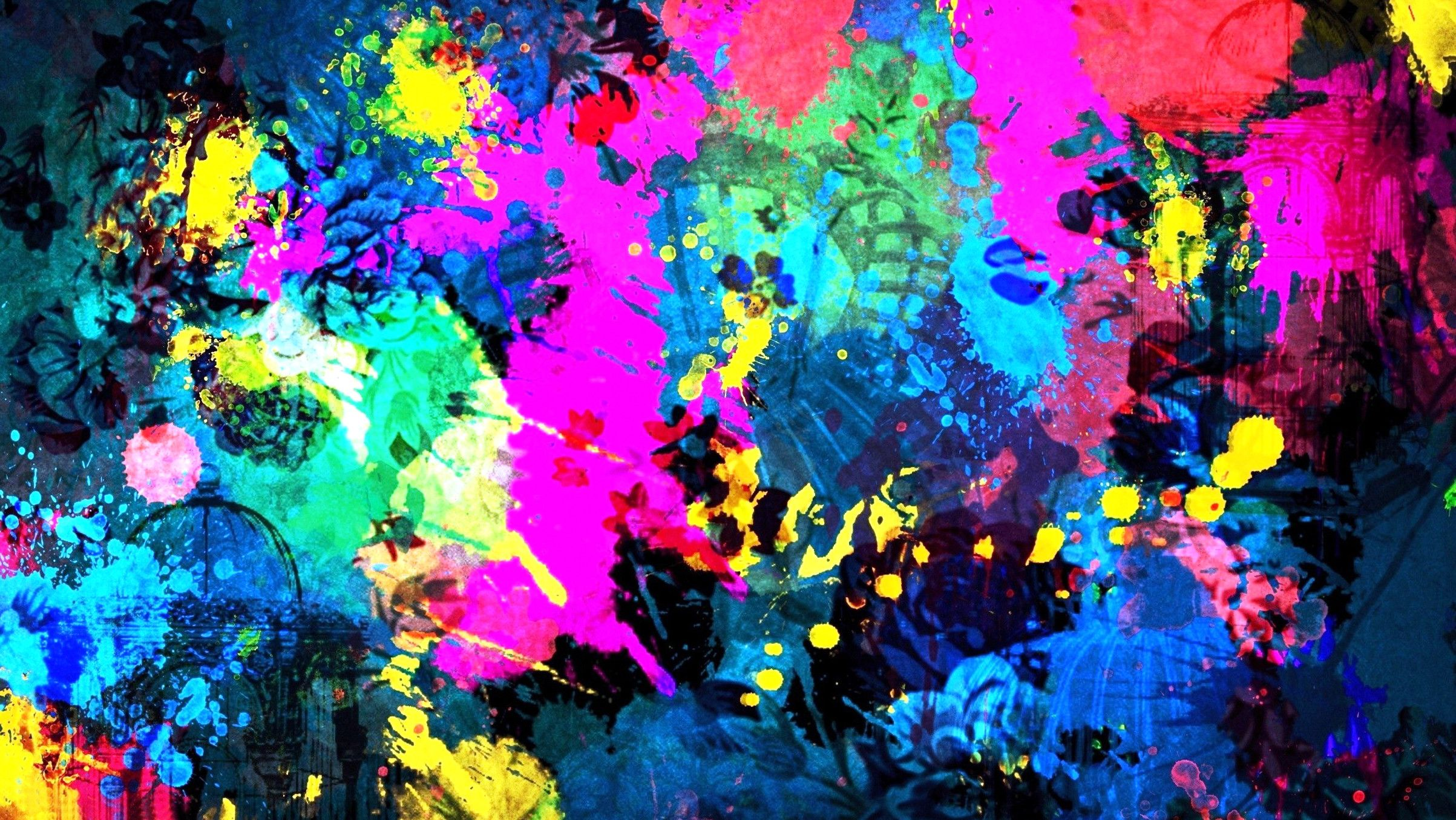 2406x1354 HD, Abstract, Art, Wallpaper, Widescreen, High
