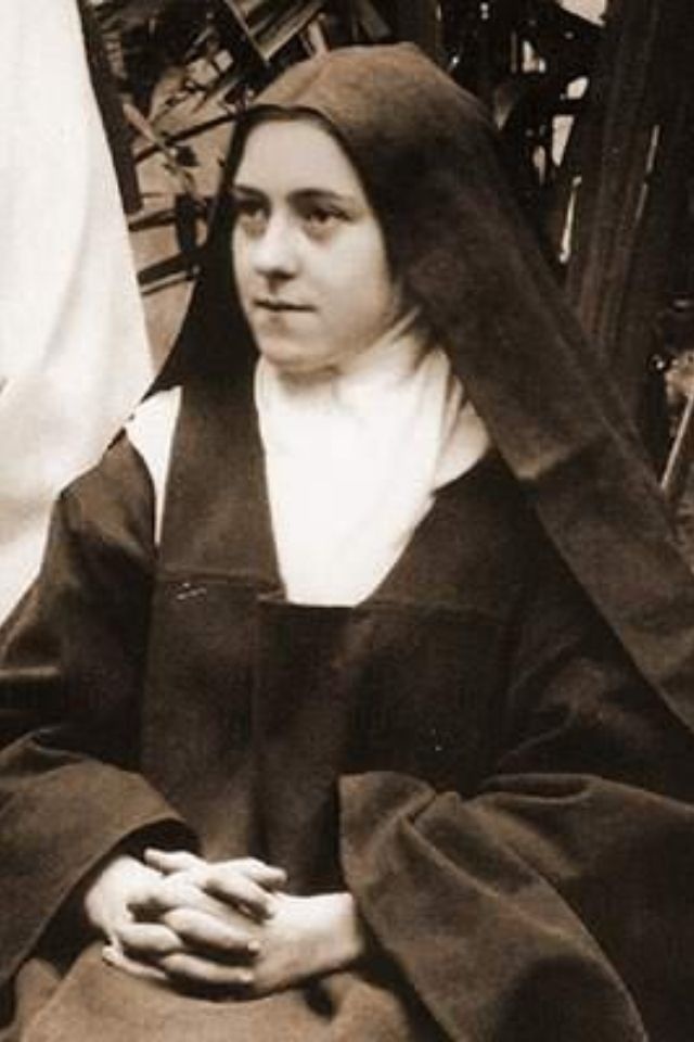 """It's only in Heaven that we'll see the whole truth about everything. This is impossible on Earth."" St Therese of Lisieux"