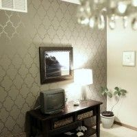 Chevron Trend Inspired Wall Stencils! | For the Home | Pinterest ...
