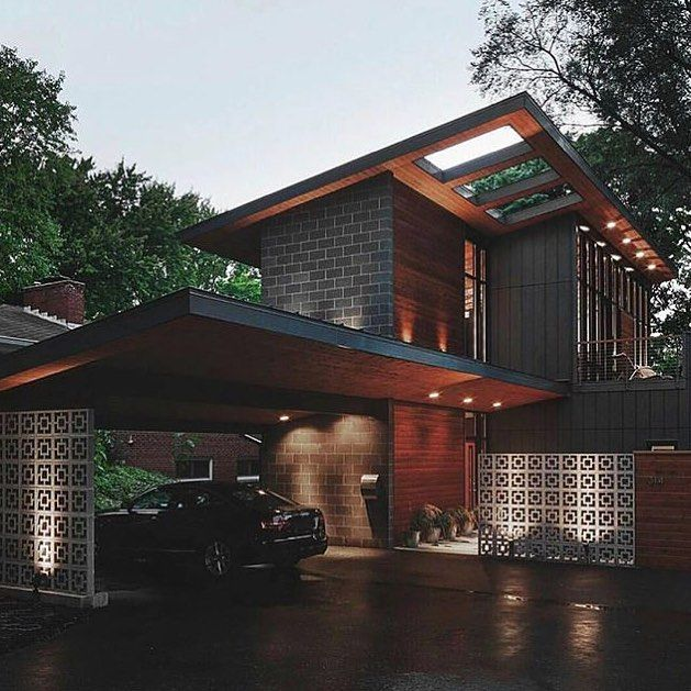 Minimalist Exterior Home Design Ideas: Contemporary Midvale Court House. Wood Exterior On Point