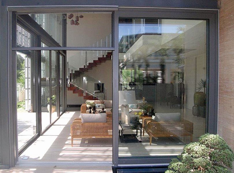 3 7 The Olympic Retractable Screen Allows For Natural Ventilation Of Medium And Large Size Open Retractable Screen Retractable Screen Door Patio Screen Door