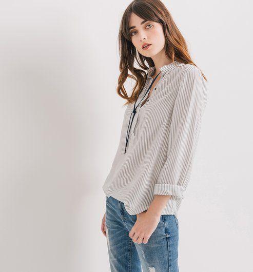 Les chemisiers, chemises et tuniques pour femmes sont sur la boutique en  ligne Promod   mode femme - ✓Livraison et Retour gratuits en boutique. 2491cdd40148