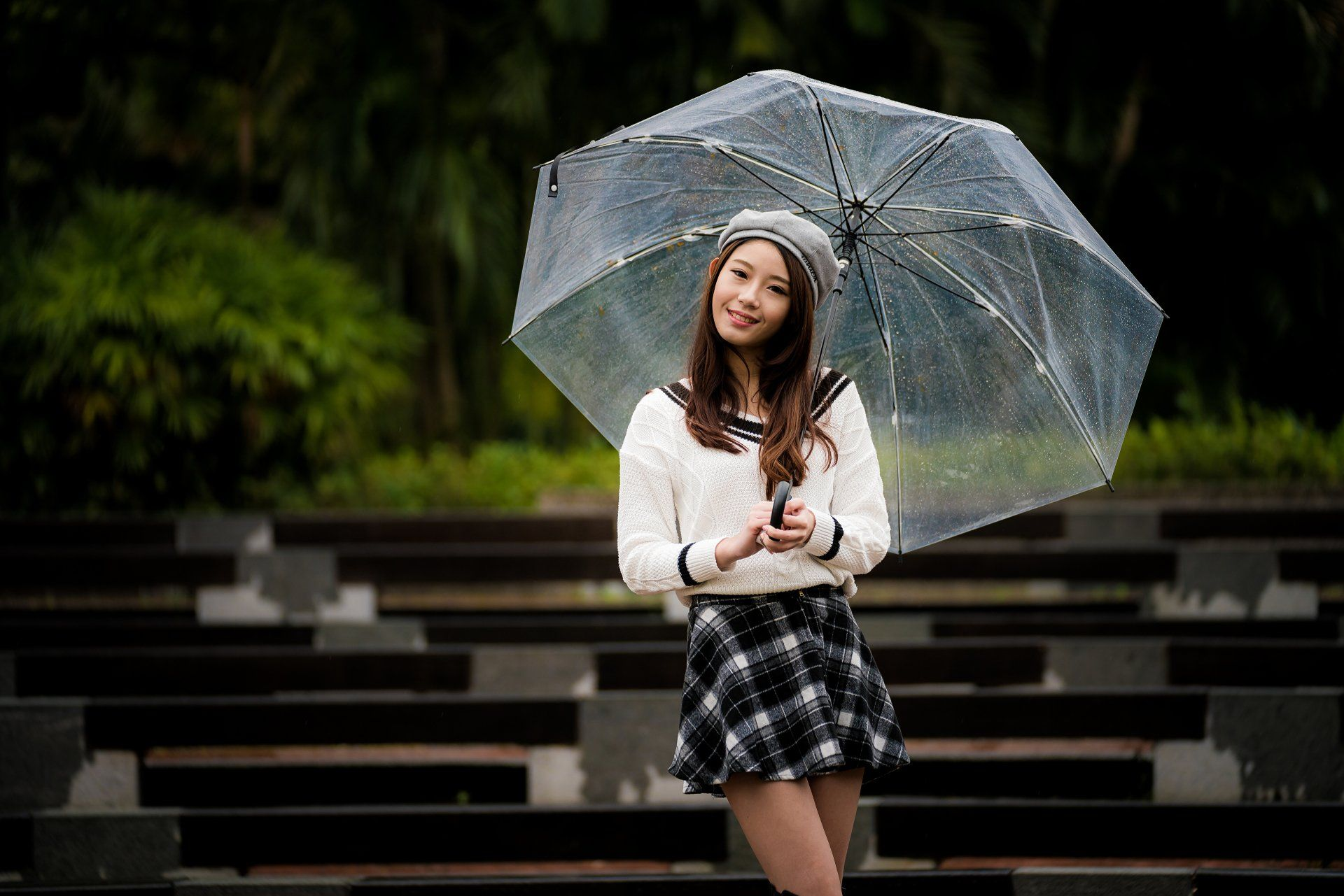 Https Wall Alphacoders Com Big Php I 1073463 Girl With Hat Asian Wallpaper Brunette Girl