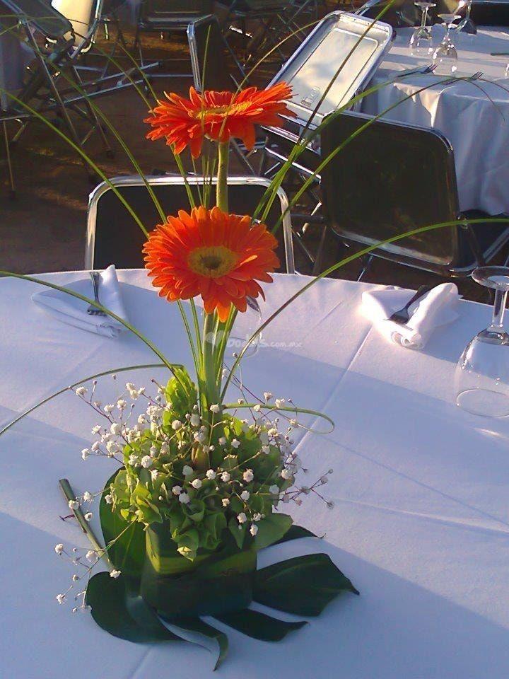 15 centros de mesa para boda en primavera Centros de mesa para