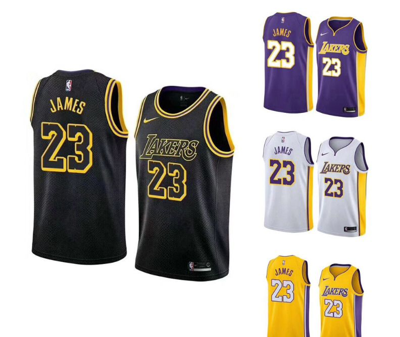 Lebron James Jersey 23 Los Angeles Lakers Swingman NWT Gold Black New La  angeles  BasketballJerseys  LosAngelesLakers 02715ef5b