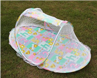 children baby tent bed mosquito net stand 110cm*40 cm*60cm mosquitoes mesh baby : infant tent bed - memphite.com