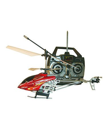 Another great find on #zulily! Red Gyro Remote Control Helicopter by Autotec #zulilyfinds