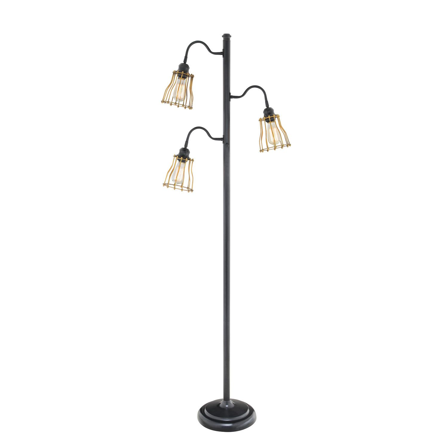 Picture Of Mesmerize Your Interior With Stunning Multi Bulbs Floor Lamp With Images Lamp Floor Lamp Tree Floor Lamp