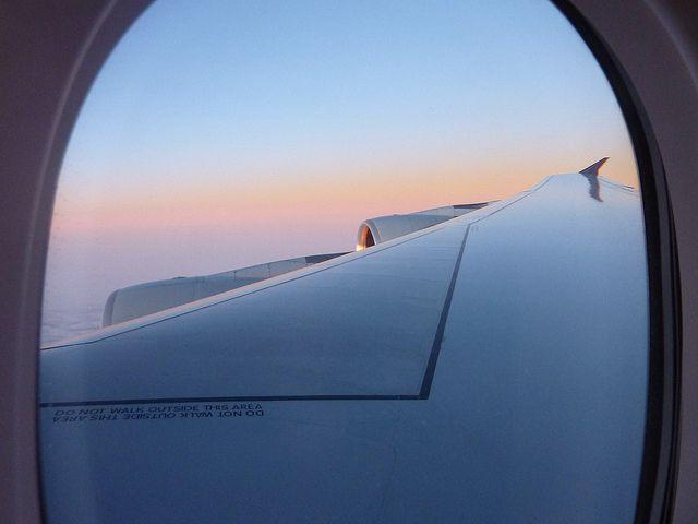 SIA A380 over India
