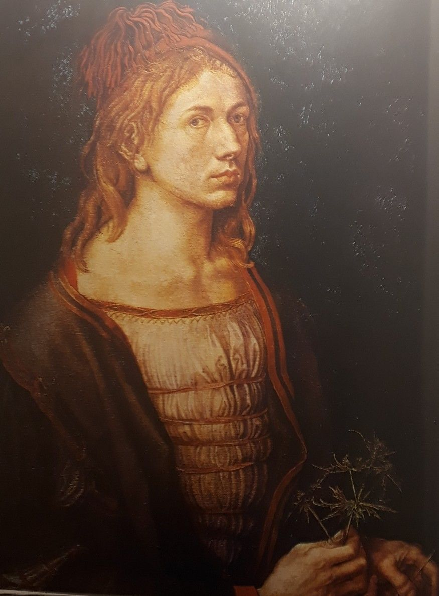 Autoportret Durera Xv W Luwr Paryz Art Artwork Mona Lisa