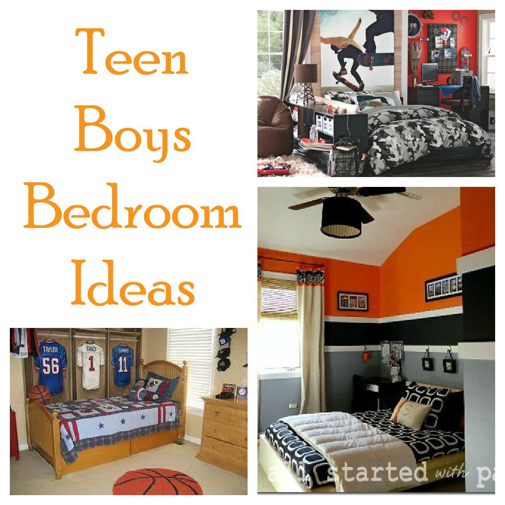 Teen boy bedroom ideas for Bedroom ideas 8 year old boy