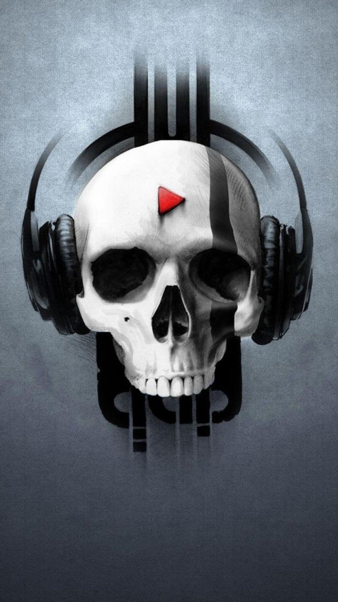 73 Music Iphone Wallpapers For The Music Lovers Skull Wallpaper Skull Art Skull