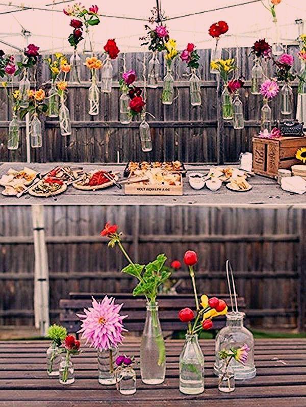 Photo of 40 Gartenideen für Ihre Sommerparty Deko