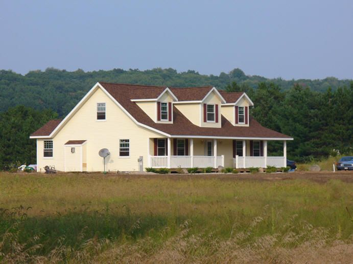 Texas Ranch House Plans | This is a beautiful Cape Cod two story ...