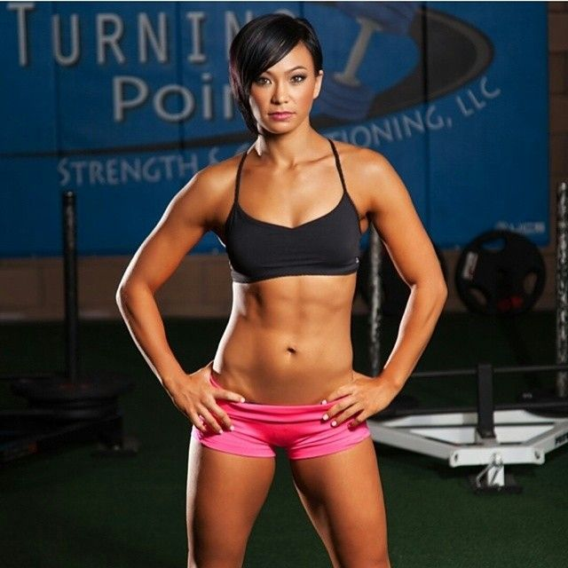 Michelle Waterson is the Karate Hottie you need to know about. Description  from ampedasia.com. I searched for …   Muscle women, Female athletes, Body  building women