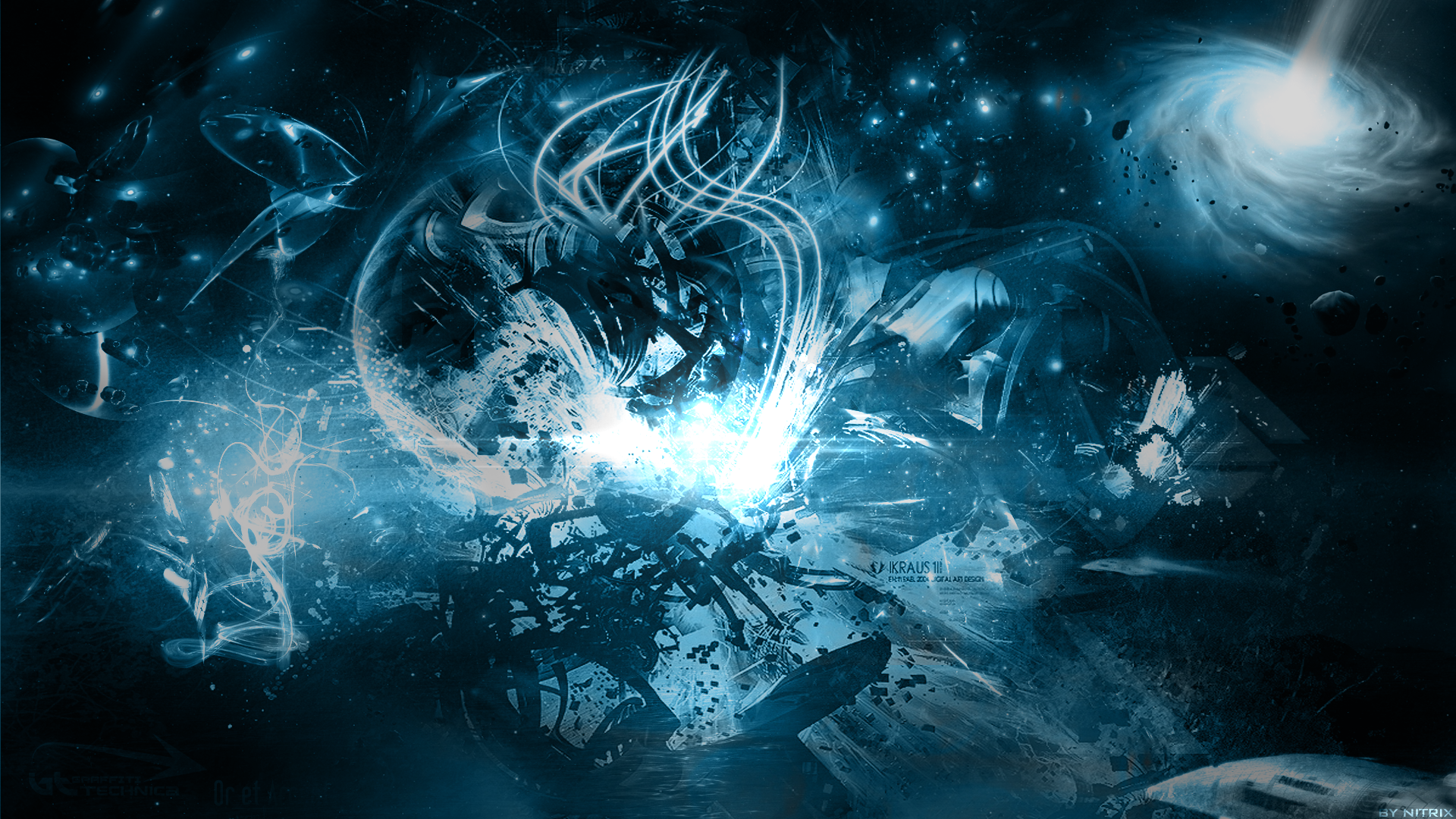 Abstract Space Wallpaper For Windows Kwg 1920 X 1080 Px