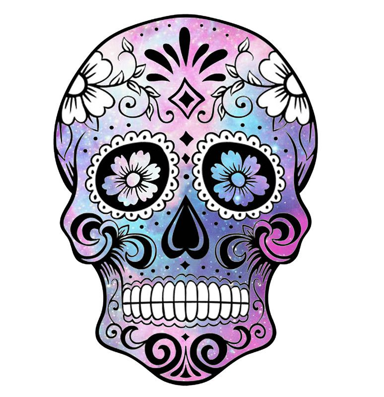 Skulls Tattoo Design Wallpaper: Sugar Skull Tattoo