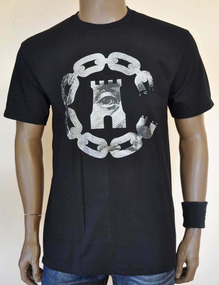 Cotton Short Sleeve Graphic Tees for Men | eBay. New Crooks & Castles All  Seeing Eye T Shirt ...