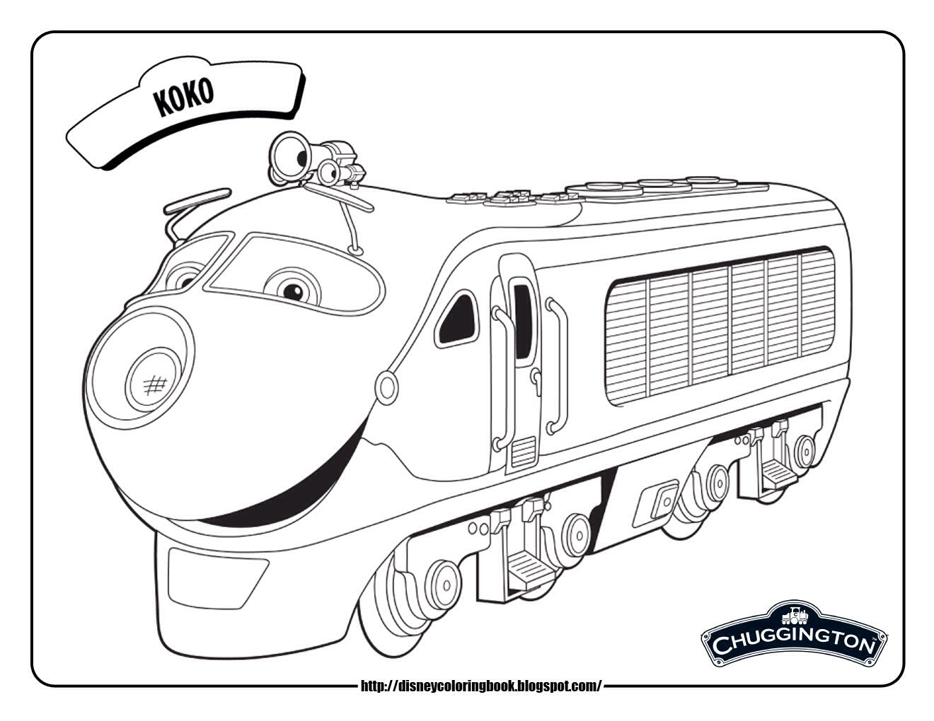 Makayla S Chuggington Birthday Image By Angie Smith Disney