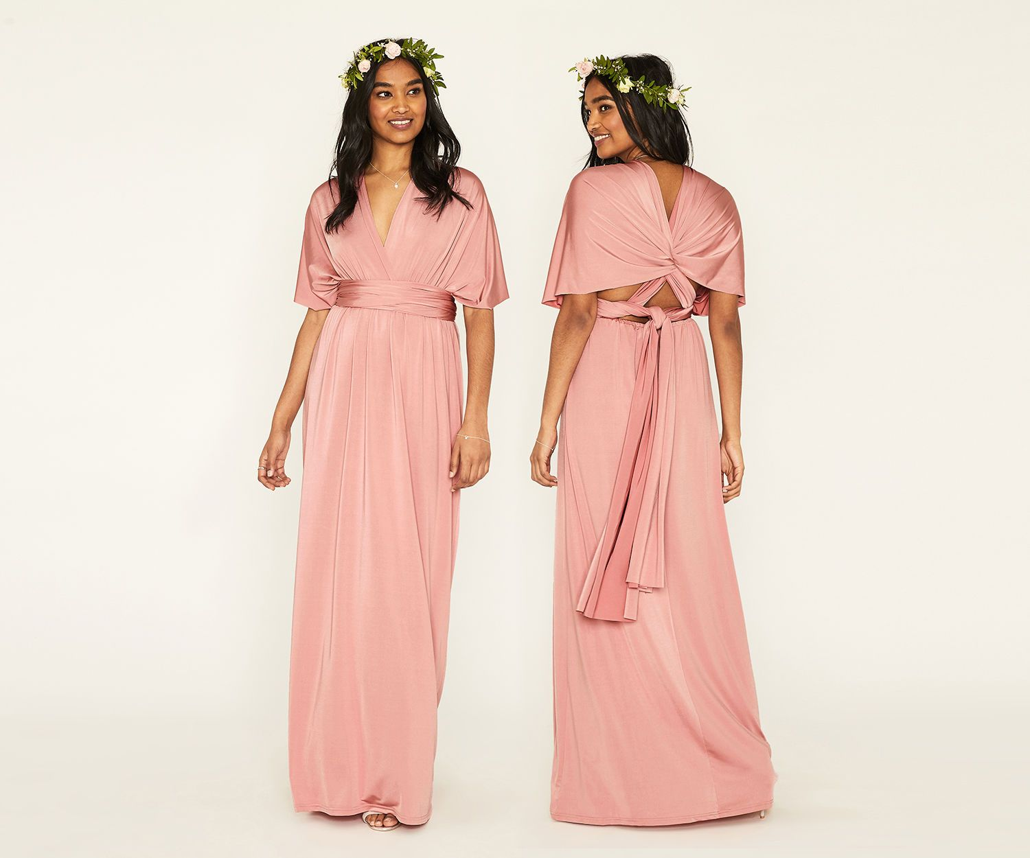 Oasis Annie Multiway Maxi Dress Mid Pink Maxi Dress Floral Maxi Dress Black Maxi Dress