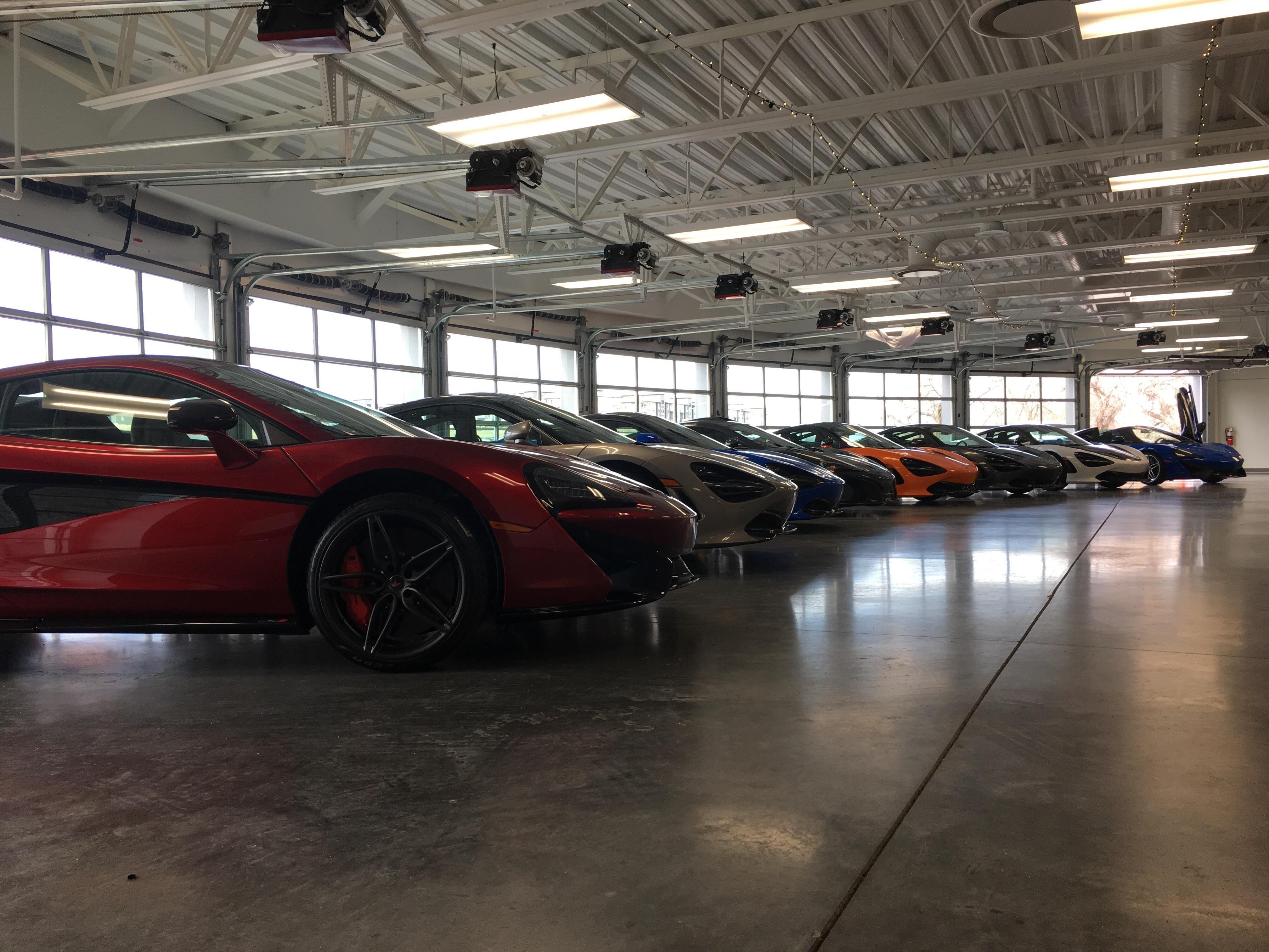 Nice Line Up At Mclaren Of Denver Luxury Cars Car Luxury