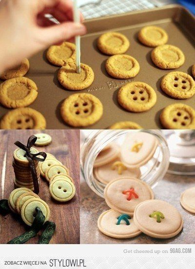 making button-cookies