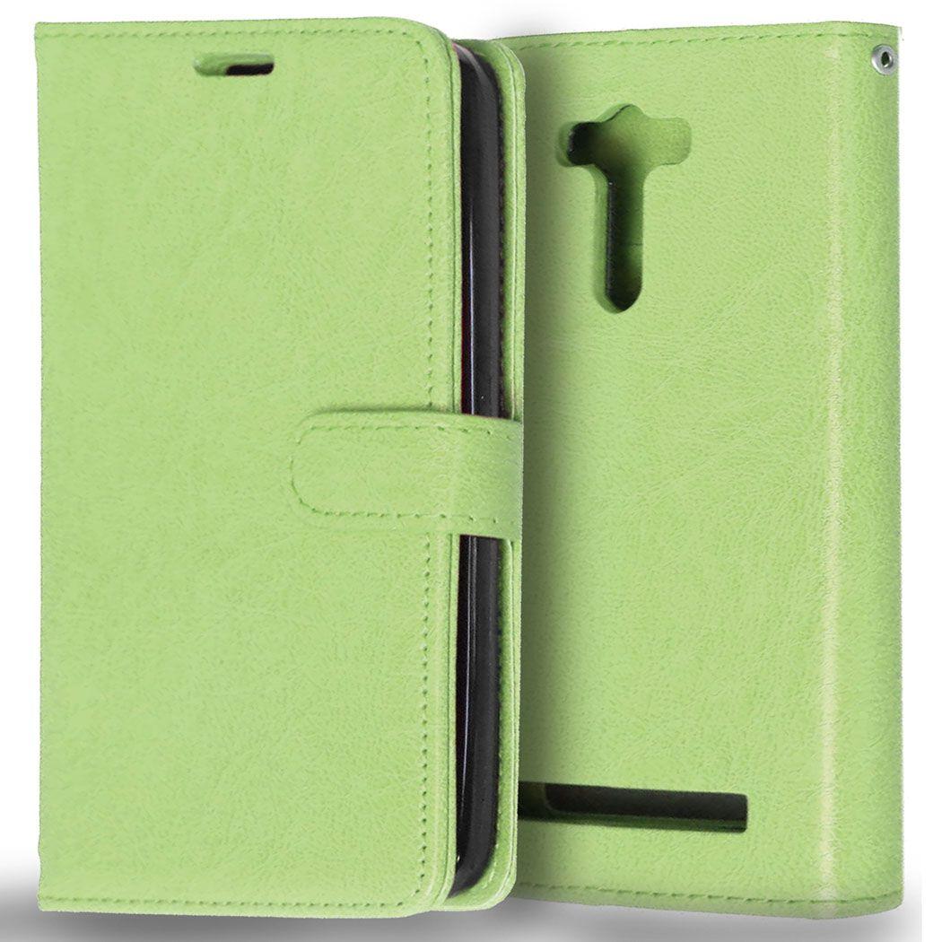 Case For Asus Zenfone 2 Laser Ze550kl Z00td Z00tda Wallet Stand Ze 550kl