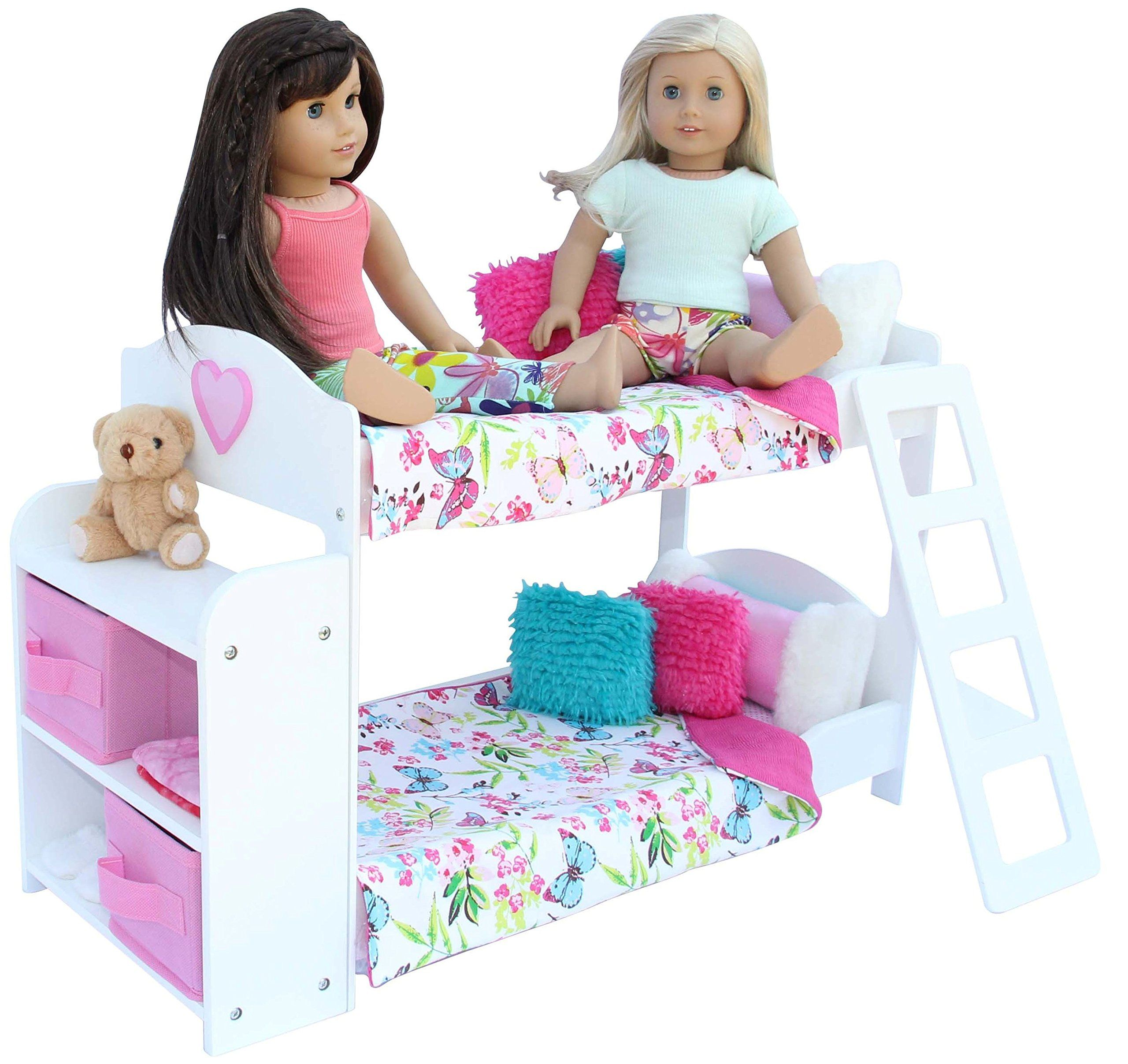 pzas toys bedroom set for 18inch american girl doll 20
