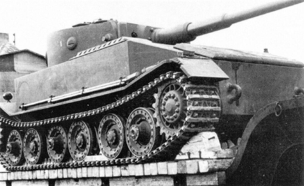 Prototype Of The German Tiger Tank Vk 4501 Porsche Type