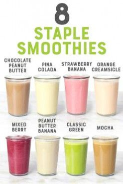 8 Staple Smoothies You Should Know How to Make | Wholefully