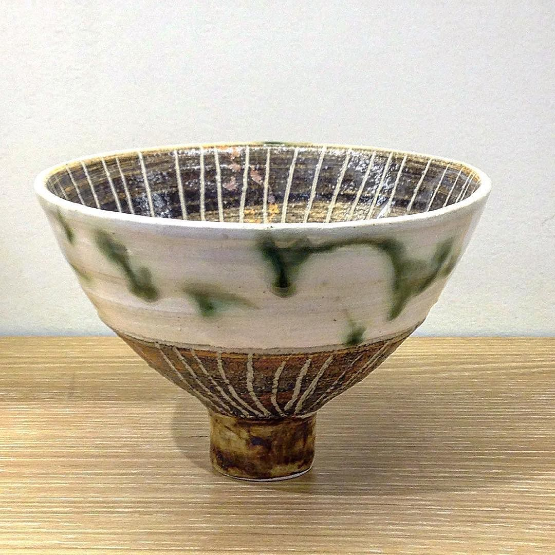 田中将則さん粉引十草抹茶碗 #織部 #織部下北沢店 #陶器 #器 #ceramics #pottery #clay #craft #handmade #oribe #tableware #porcelain