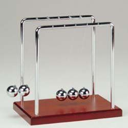 Top 10 Gifts For The Guy Who Has Everything Listverse Newton S Cradle Classic Desk Desk Toys