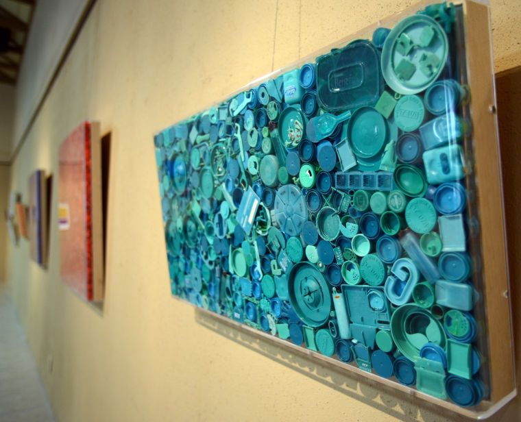 Artist turns beach trash into unique works of art - Local ...