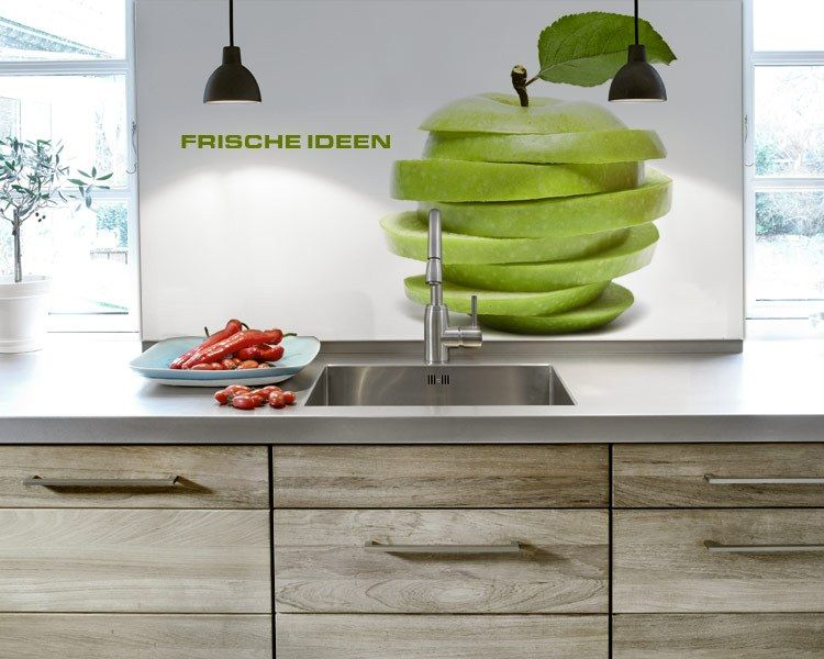 Hinterglasfolie mit eignen Motiven für Küchenrückwände - spritzschutz küche folie
