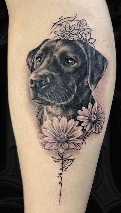 100+ Adorable Dog Tattoos That Will Melt Your Heart - Tattoo Me Now