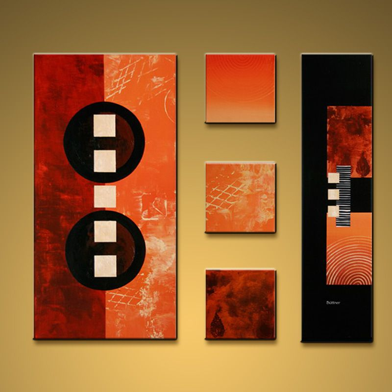 hand painted large modern abstract painting wall art decoration rh pinterest co uk