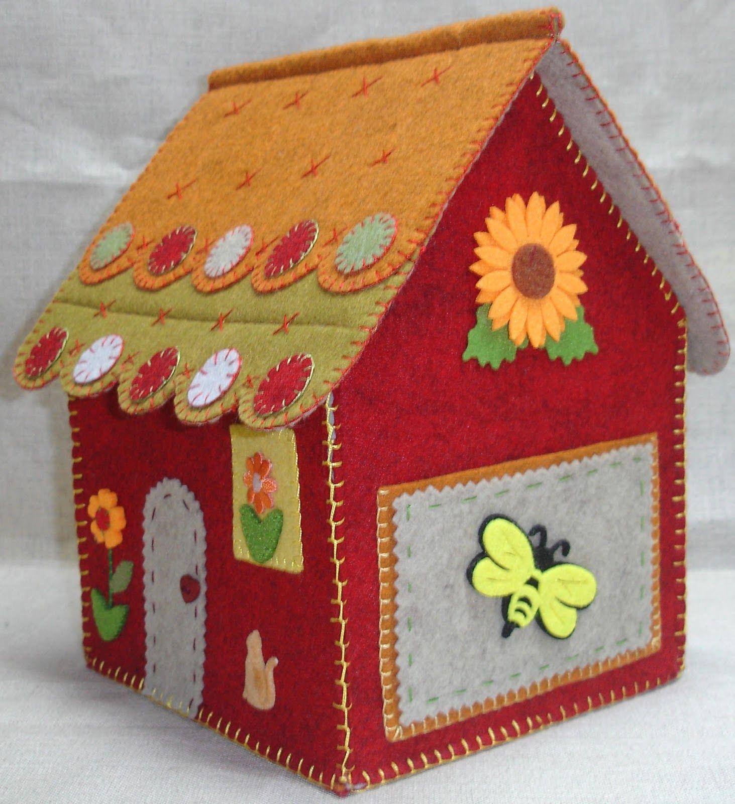 Laterales de casitas patchwork buscar con google - Casas de patchwork ...