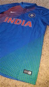 70b99a4875d4 India ODI Cricket Shirt Nike Men Blue Replica T-shirt - 2016