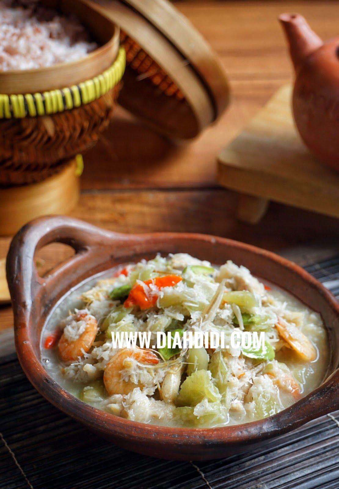 Oblok Oblok Lompong Batang Talas Resep Makanan Sehat Resep Masakan Resep